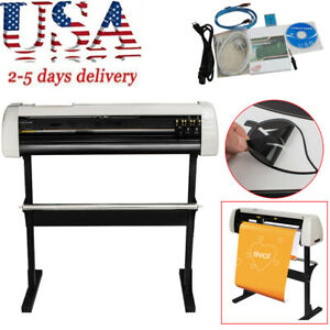 33 Vinyl Cutter Sign Cutting Plotter Machine With Contour Cut Function Durable