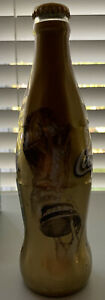 Coca Cola 2006 FIFA World Cup Germany Gold FULL BOTTLE!! NEVER OPENED!!