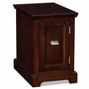 Westwood Cherry Printer Stand Cabinet End Desk Cherry Small