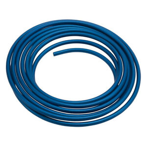 Russell 3 8 Aluminum Fuel Line 25ft Blue Anodized 639250