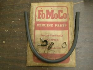 Nos Oem Ford 1960 1966 Rear Axle Vent Hose Kit Galaxie Mustang Falcon Fairlane