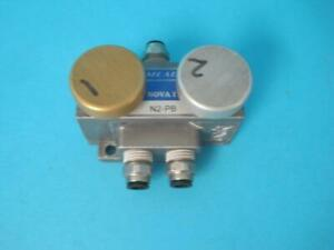 Mead N2 pb Switch Nova 1 I N2pb Push Button Manual Control Actuator Valve Used