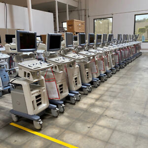 Used 15 Lcd Monitor Ge Logiq P5 Ultrasound Machine system Only Sold As Is
