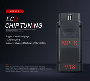 Mpps V18 Main Tricore Multiboot With Breakout Tricore Cable Auto Detect Ecu