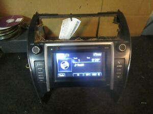 12 13 Toyota Camry Radio Cd Player Receiver 2012 2013 Parts 86140 06010