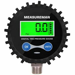 2 1 2 quot Dial Size Digital Air Pressure Gauge With 1 4 39 39 Npt Bottom And