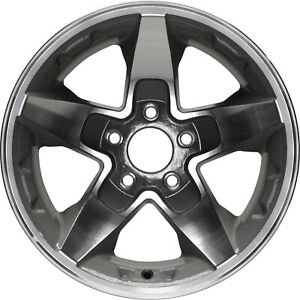 16 Brand New Alloy Wheel For 2001 2002 2003 2004 2005 Chevy S10 Blazer 2wd