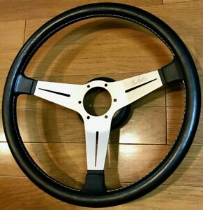 1983 Nardi 390mm 39cm Vintage Leather Steering Wheel porsche amg ferrari