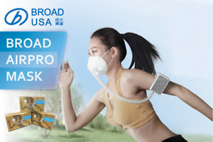 Broad Airpro Electrical Air Purifying Respirator reusable 2 Masks vaule Pack