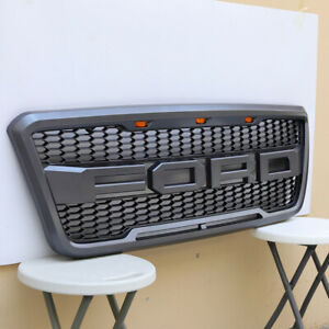 For Ford F150 F 150 Grill Grille 2004 2008 Gray
