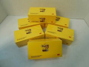 Post it Original Notes 3 X 3 Inches Bright Yellow Color 90 Sheets Each 12 Pads