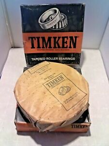 Timken 67322 Precision Tapered Bearing Cup Race lot Of 2 Nos