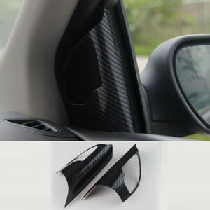 For Ford Focus Mk4 2005 2008 Carbon Fiber Front Triangle A Pillar L