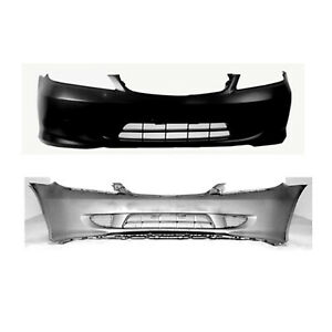 Fits 2004 2005 Honda Civic Coupe Front Bumper Cover 101 50430 Capa