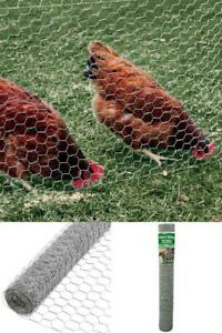 4 Foot Chicken Fence 150 Mesh Poultry Netting Agriculture Farming Gardner Steel