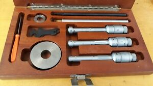 Brown Sharpe Tesa Intrimik Inside Micrometer Small Hole Set 500 700 Range