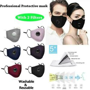 Face Masque Pm 2 5 Protective Cover Washable Reusable Adult Unisex W 2filter Us