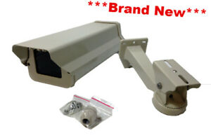 Videolarm Lchhb Outdoor Housing With Heater blower And Lchhb Wall Mount