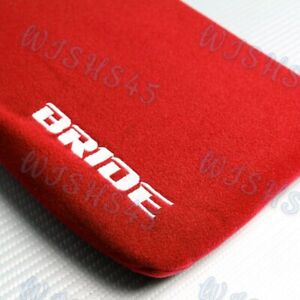 For Lumber Rest Cushion Bucket Seat Racing Jdm Bride Racing Red Tuning Pad 1pc