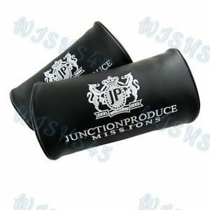 Car Neck Rest Pillow Headrest Cushion Set Of Jp Junction Produce Vip Embroidery