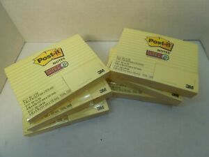Post it Lined Notes 3 4x6 3 4x4 And Unlined 6 2x2 Total 1080 Notes Per Pack