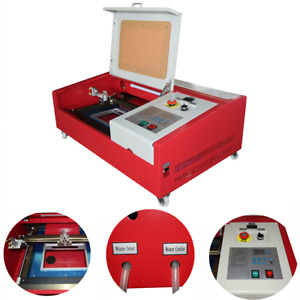 40w Co2 Laser Engraving Cutting Machine 12 X 8 Inch Engraver Table And Usb Port
