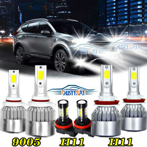 Part Accessories For Honda Accord 2013 2014 2015 Led Headlight Bulbs 6000k 6pcs