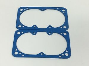 2 Pack Holley Carburetor Blue Non Stick Fuel Bowl Gasket 2300 4150 4160 4500