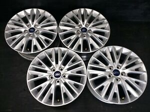 4 Ford Focus Fusion Escape Sho Taurus Thunderbird Transit Wheels Rims caps 17