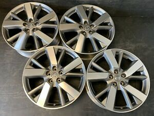 4 Nissan Pathfinder Altima Murano Rogue Infiniti Wheels Rims Caps 20