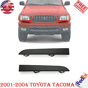 Front Below Head Lamp Filler Primed Steel Lh Rh For 2001 2004 Toyota Tacoma