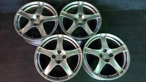 4 Mazda Miata Mx 5 Mazdaspeed Racing Hart Wheels Rims Caps 17
