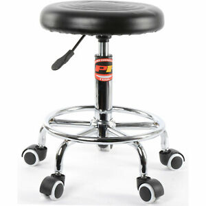Jegs W85027 Pneumatic Rolling Stool 250 Lb Capacity Adjustable From 19 In To