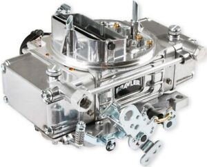 New Holley Quick Fuel Brawler Diecast Carb Shiny Mechanical Electric 650 Cfm Gas