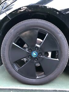 Bmw I3 Black Wheels And Tires
