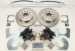 Right Stuff Zdcrd01 Ford 9 Rear Disc Brake Conversion Kit
