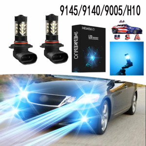 9005 Ice Blue Led High Beam Daytime Running Light Xd For Lexus Is Gs Es Ls Rx Lx