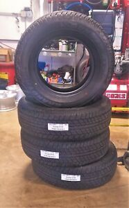 Used Set 4 Dunlop Grandtrek At20 P265 70r17 113s