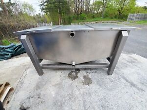 Food Grade Stainless Steel Holding Tank 450 Gal