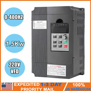 220v Adjustable frequency Drive Vfd Speed Controller Single To 3 phase Ac Motor