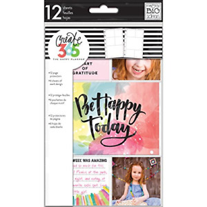 Me My Big Ideas Happy Planner Mini Page Protector Pocket Sheets