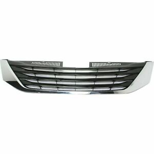 New Grille Assembly Fits Toyota Sienna 2011 2014 Front Side To1200334