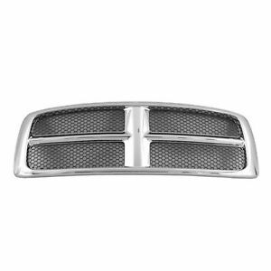 New Grille Grill Assembly Fits Dodge Ram 1500 2002 2005 Front Side Ch1200268