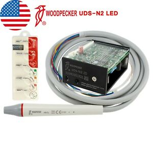 Original Woodpecker Dental Ultrasonic Piezo Built In Scaler Uds n2 Led Handpiece