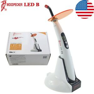 Usa 100 Woodpecker Curing Light Dental Lamp Wireless 5 Second Cure 1400mw Led B