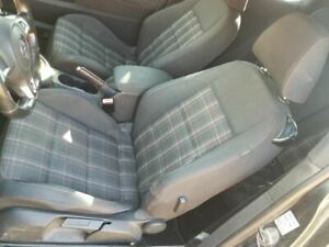 2010 2014 Vw Golf Gti Left Front Driver Bucket Plaid Seat Cloth Manual 552322