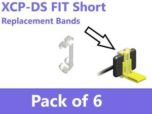Xcp ds Fit Band Sensor Holder Silicone Replacement Band Short 6 pk