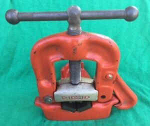 Ridgid No 21 Bench Yoke Pipe Vise 5 8 Inch To 2 Inch Capacity Made In U s a