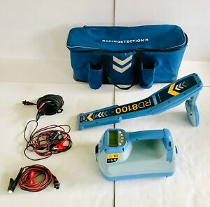 Spx Radiodetection Rd8100 Pdl Utility Locator Tx 10 Pipe Cable Locator