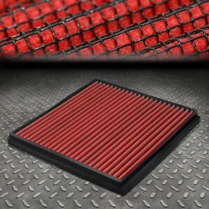 For 03 18 Honda Accord civic Acura Tsx tlx Drop in Panel Cabin Air Filter Red